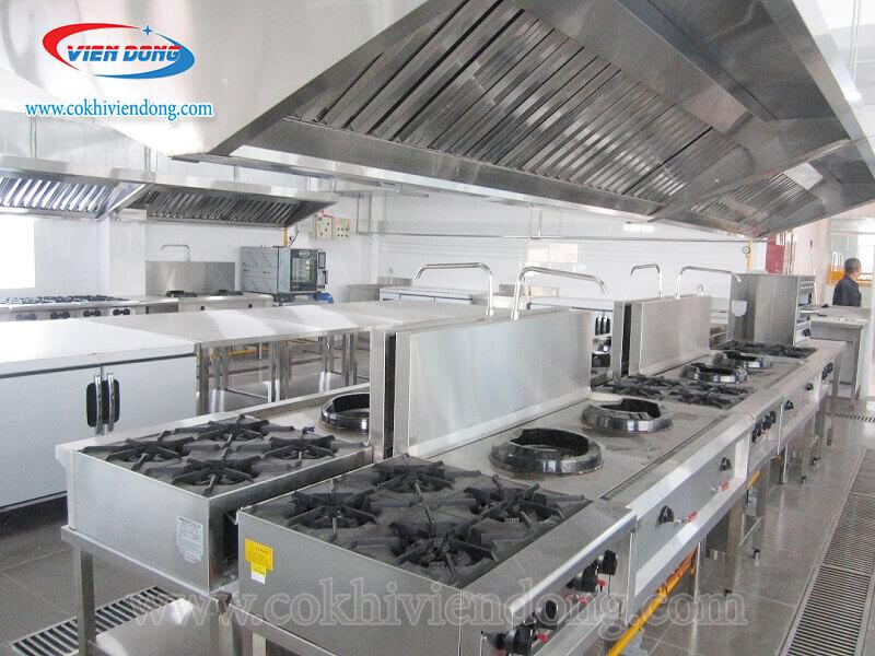 Tham khảo mẫu dây chuyền thiết bị bếp nhà hàng hải sản ven biển