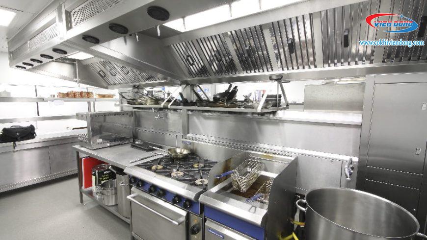 cách phân khu bếp nhà 31