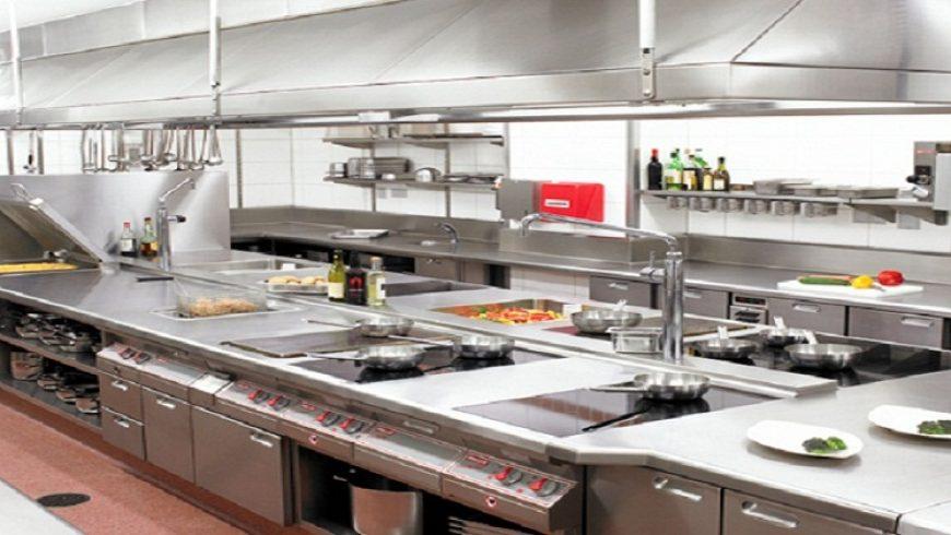 cách phân khu bếp nhà hàng