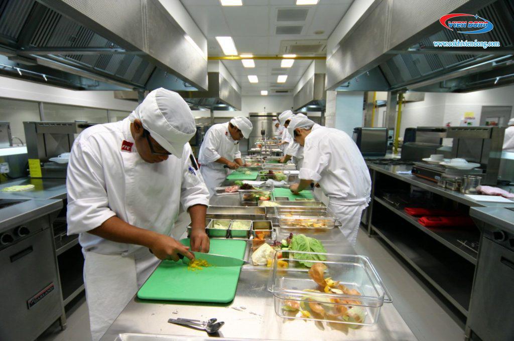 cách phân khu bếp nhà hàng2