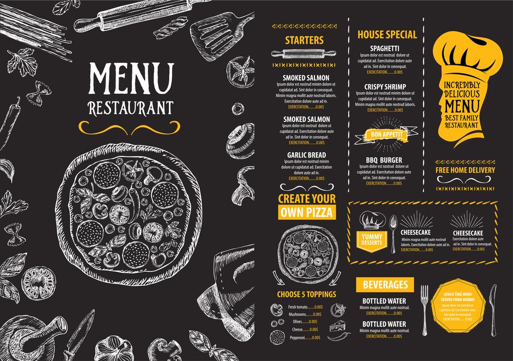 sắp xếp bếp theo menu