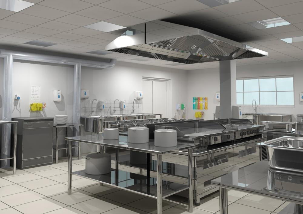 tiêu chuẩn thiết kế bếp nhà hàng6