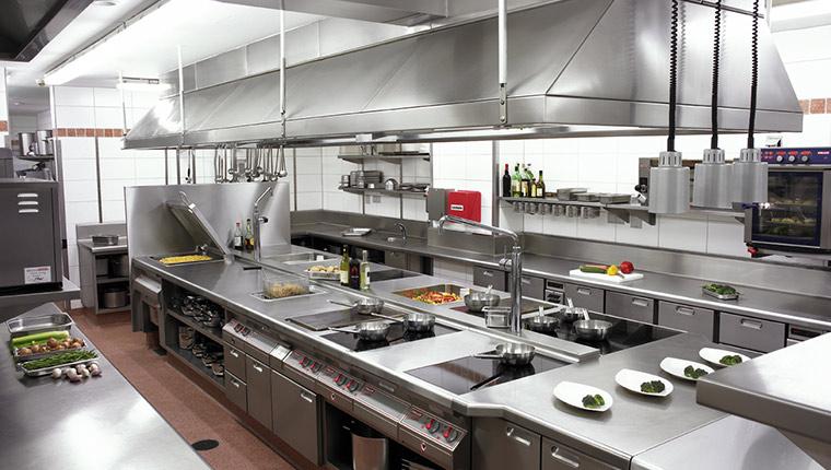 Sản xuất bếp công nghiệp