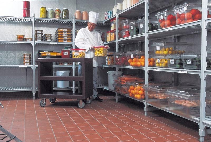 Giá bếp công nghiệp nhà hàng