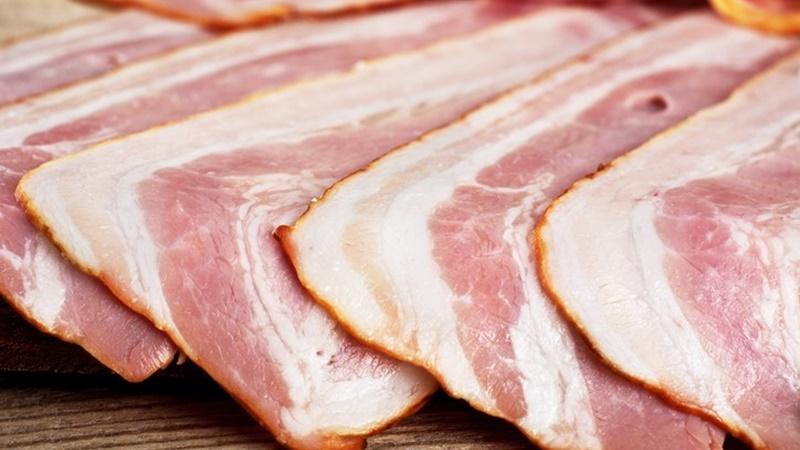 chế biến thịt xông khói