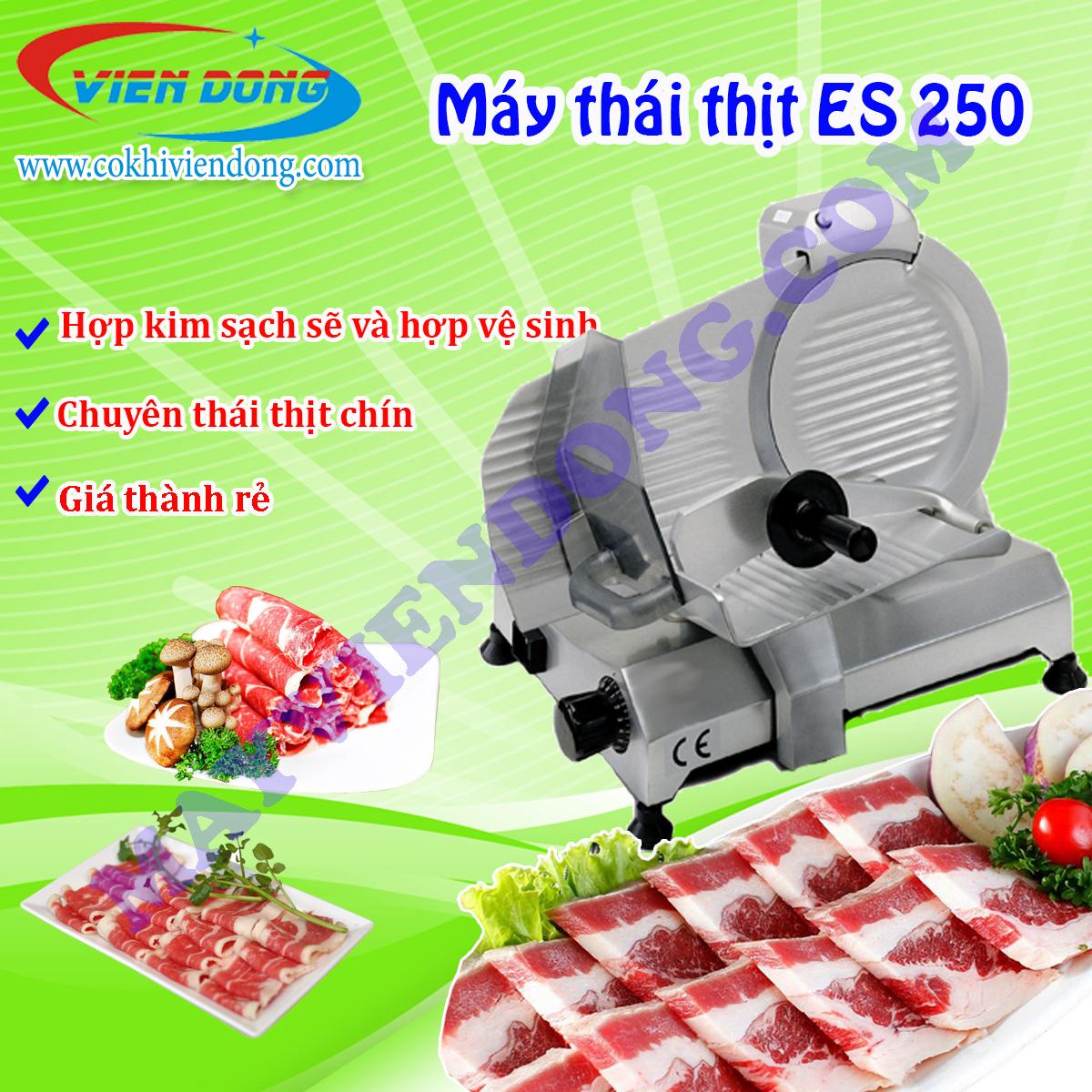 máy thái thịt chín ES 250