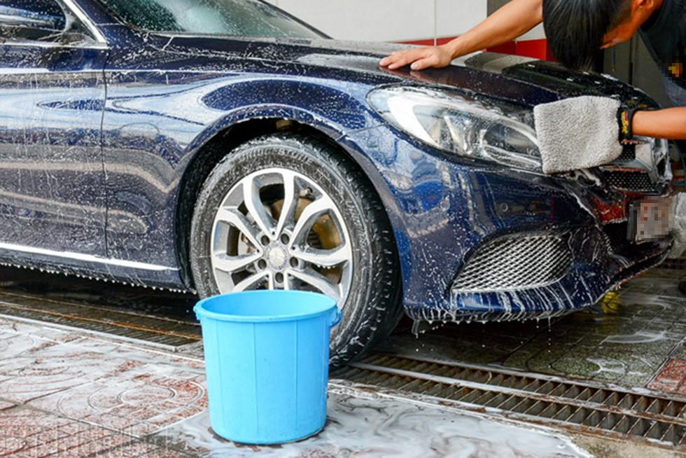 làm giàu từ rửa xe