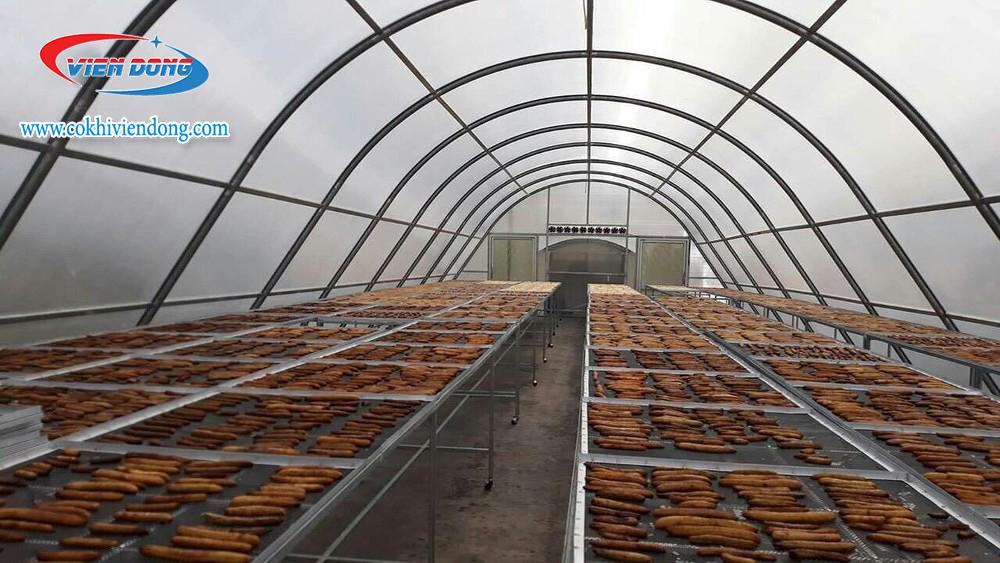 Cách sấy nông sản bằng máy sấy năng lượng mặt trời
