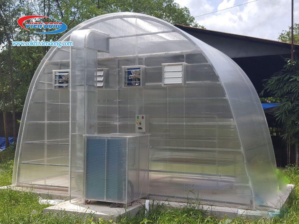 Cấu tạo lò sấy nông sản hiệu ứng nhà kính có gì đặc biệt?