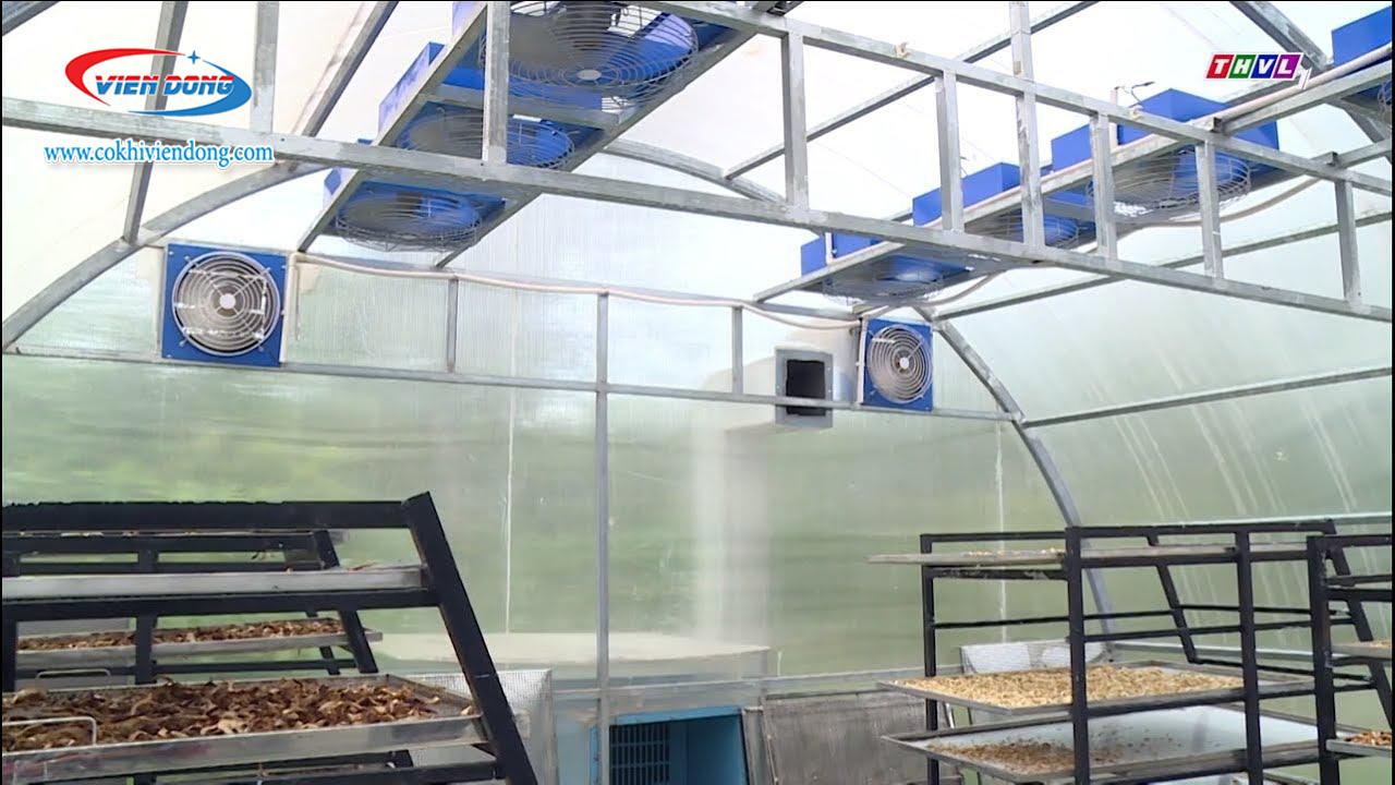 Giàn khung nhà sấy năng lượng mặt trời