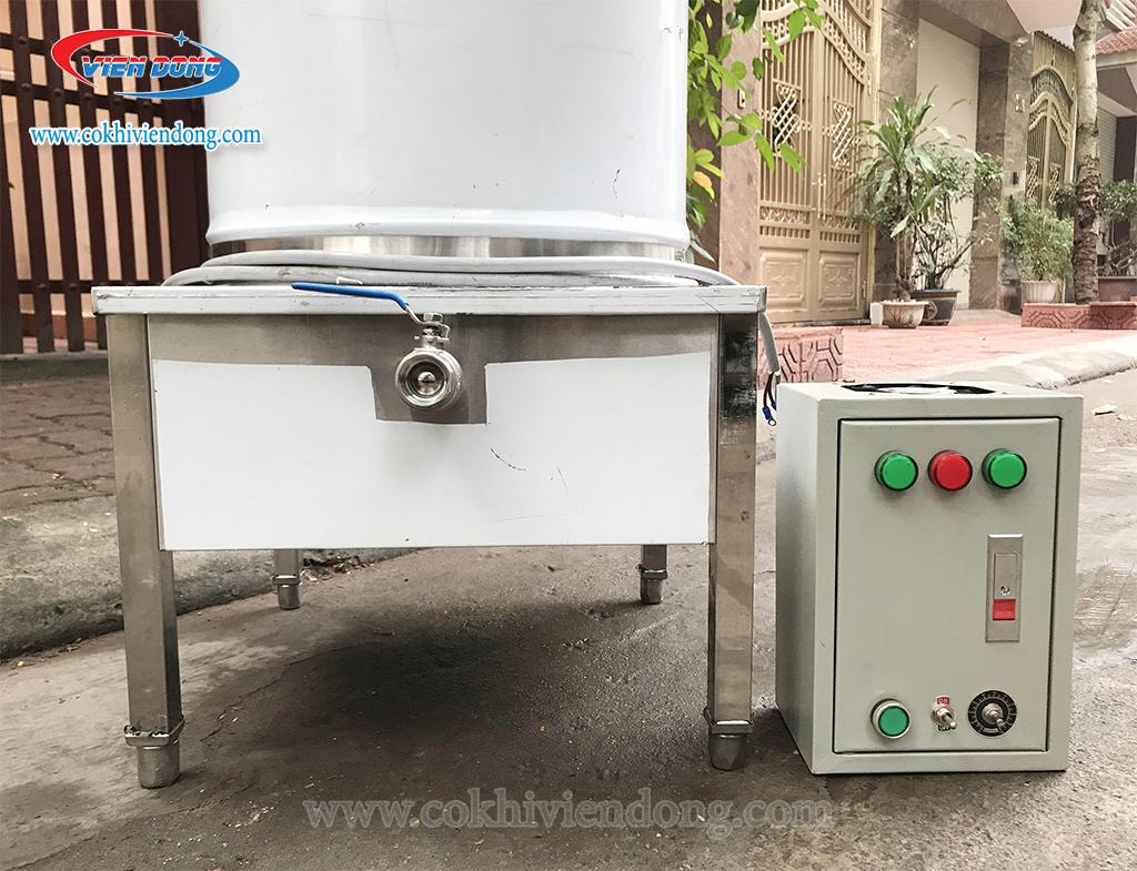 Nồi nấu phở tủ điện chiết áp (5)
