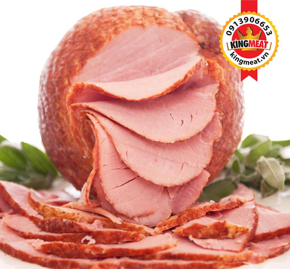 thịt xông khói kiểu Mỹ ngon