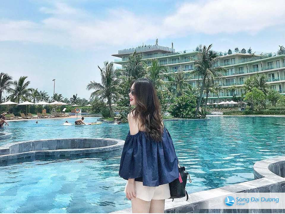 bể bơi nước mặn lớn nhất Việt Nam - hình ảnh đẹp nhất flc sầm sơn