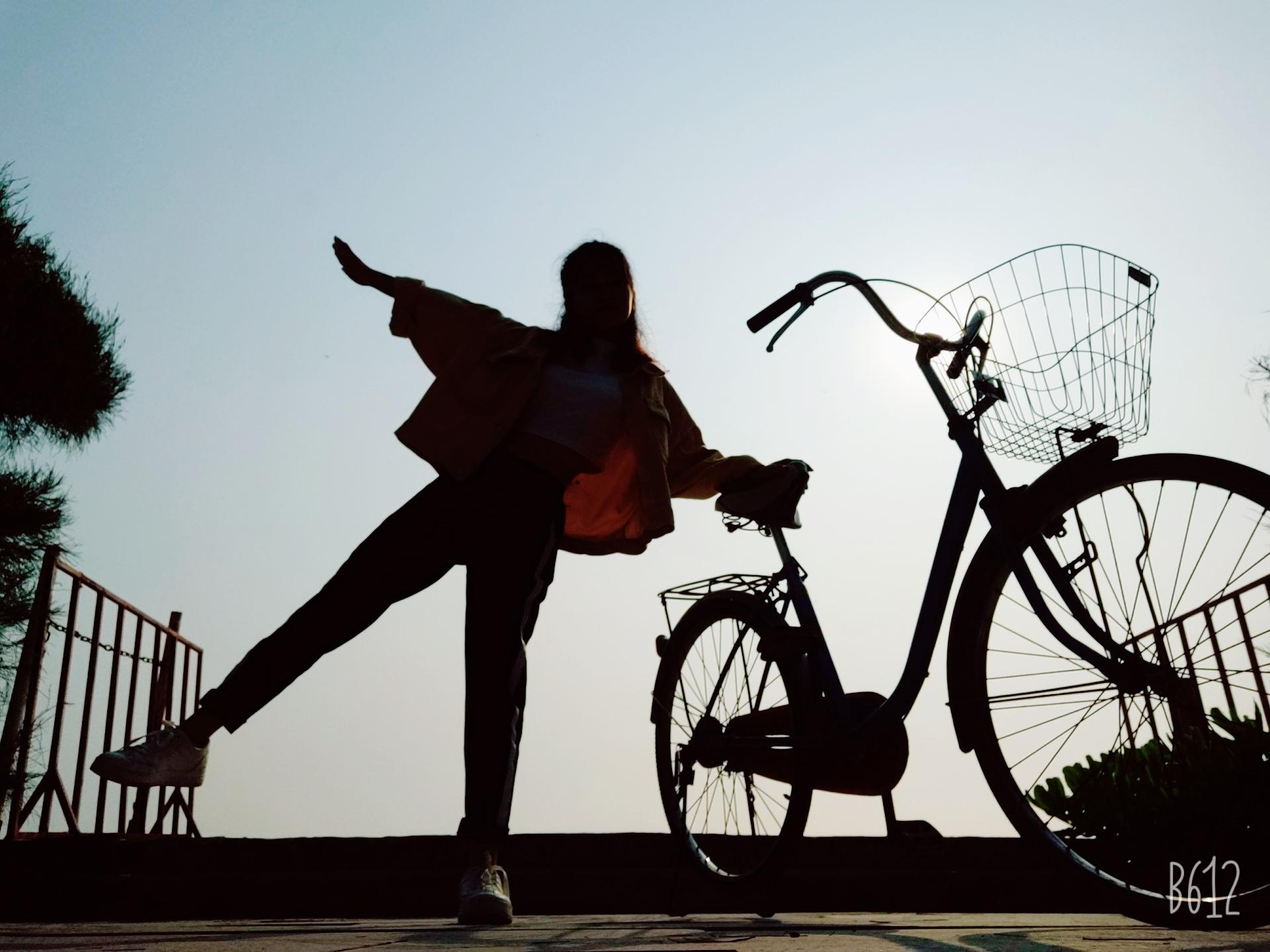 lượn 1 vòng cùng xe đạp