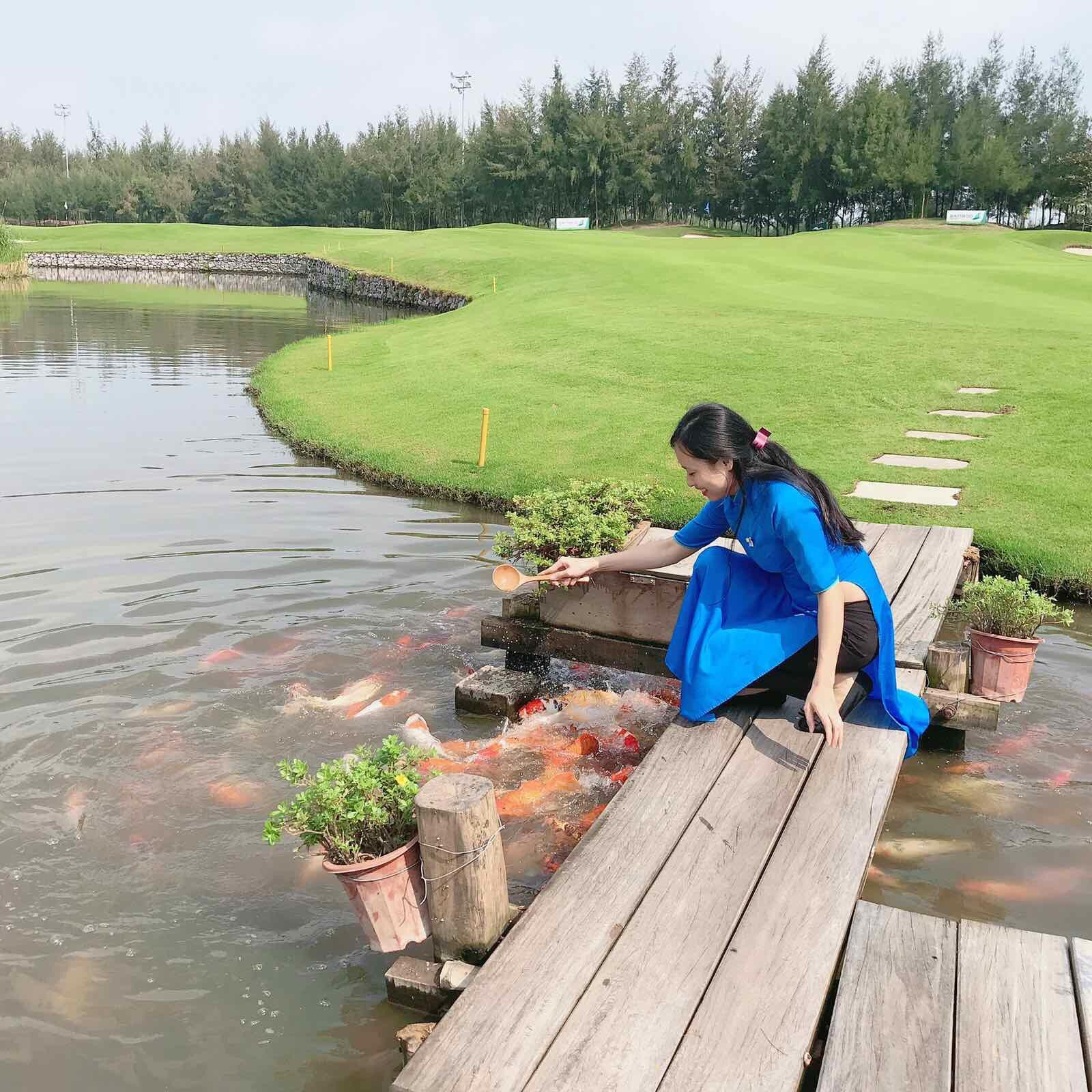 sân golf - hình ảnh đẹp flc sầm sơn
