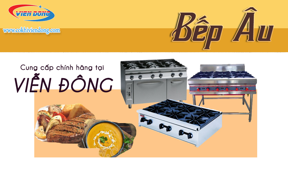 thiết bị bếp Âu