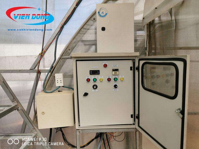Nhà sấy được trang bị thêm hệ thống gia nhiệt
