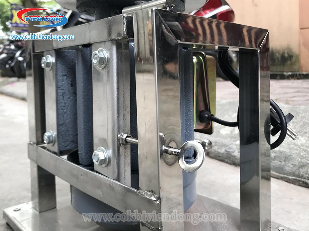 Chất liệu của cối xay và khung máy