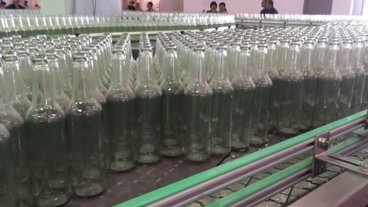 Dây chuyền sản xuất chai thủy tinh cần đạt tiêu chuẩn