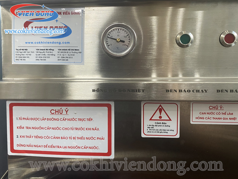 Tủ nấu cơm công nghiệp 4 khay